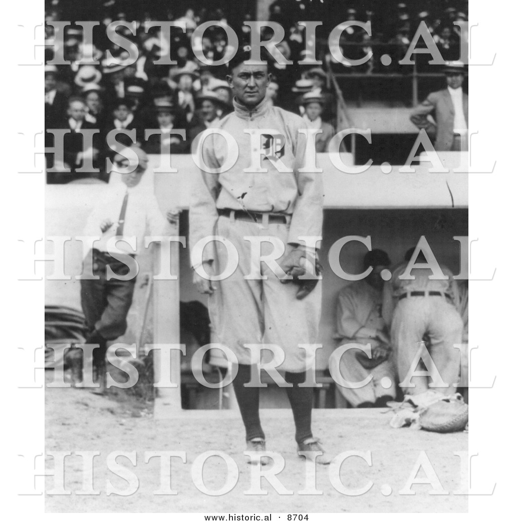 Historical Photo Of Tyrus Raymond Cobb Detroit Tigers