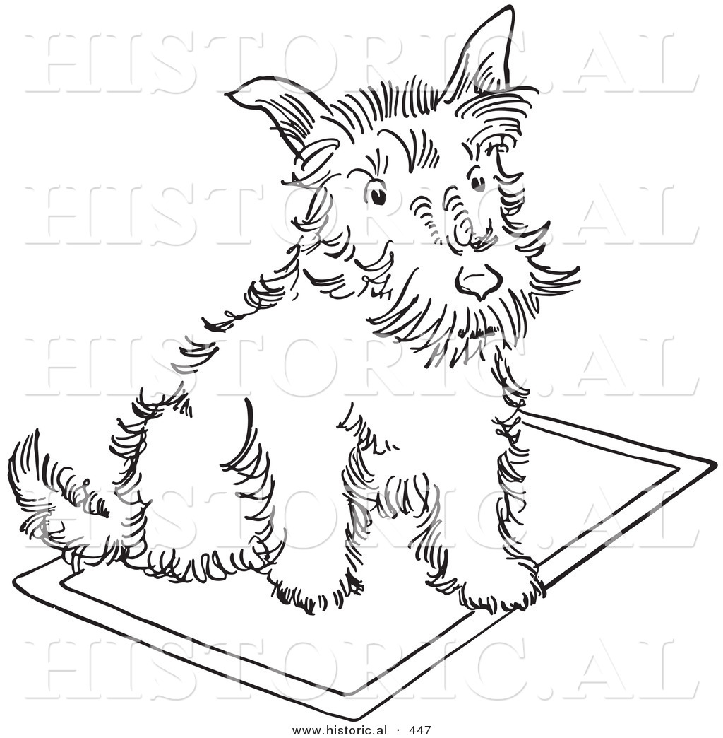scottish terrier coloring pages - photo#30