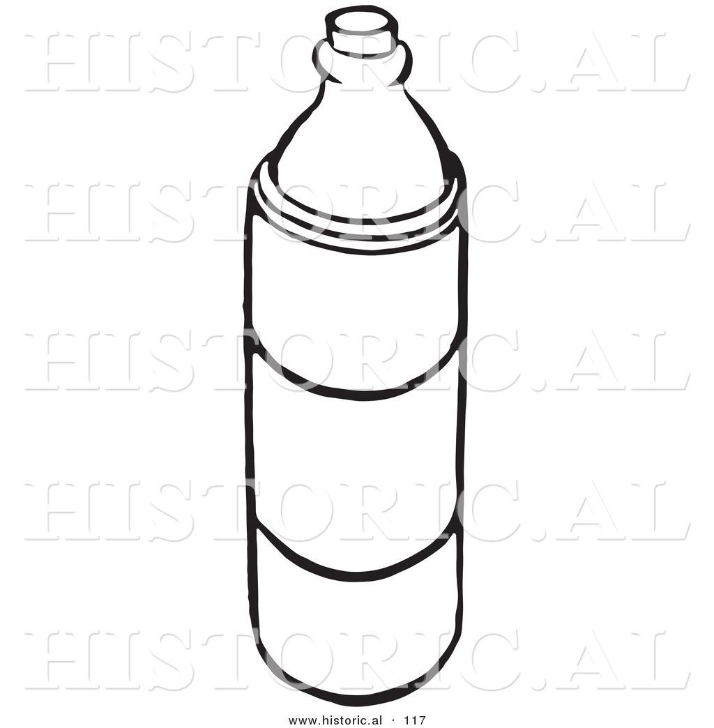 of a Water Bottle - Bl...