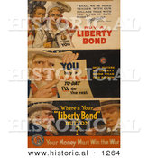 Historical Illustration of Uncle Sam: You Buy a Liberty Bond Today and I'll Do the Rest by Al