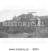Historical Image of Barabaras - Black and White Version by Al