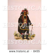 Historical Image of Chippeway Chief 1838 by Al