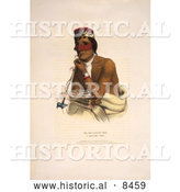 Historical Image of Chippeway Chief Wa-Em-Boesh-Kaa by Al