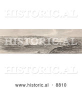 Historical Image of Niagara Falls from the Canadian Side by Al
