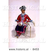 Historical Image of Tshusick, an Ojibway Woman by Al