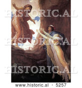 Historical Painting of Return of Persephone by Frederic Lord Leighton by Al
