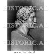 Historical Photo of Alexander the Great 1902 - Black and White by Al