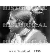December 13th, 2013: Historical Photo of Amos Two Bulls, Sioux Native American Indian 1900 - Black and White by Al