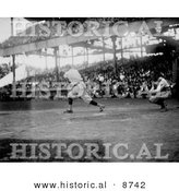 Historical Photo of Babe Ruth Batting in 1921 - Black and White Version by Al