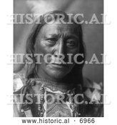 December 13th, 2013: Historical Photo of Brule Native American Man Named Hollow Horn Bear 1907 - Black and White by Al