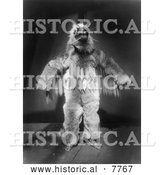 Historical Photo of Hamasilahl 1914 - Black and White by Al