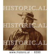 Historical Photo of Henry Leeds 1898 - Sepia by Al