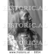 December 13th, 2013: Historical Photo of Little Dog, an American Indian Man 1907 - Black and White by Al