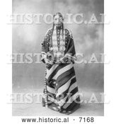 December 13th, 2013: Historical Photo of Lucy Red Cloud, Sioux Indian 1899 - Black and White by Al