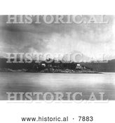 Historical Photo of Mamalelekala Cemetary 1914 - Black and White by Al