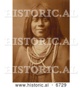 December 18th, 2013: Historical Photo of Mis Se Pah, Mohave Woman 1903 - Sepia by Al