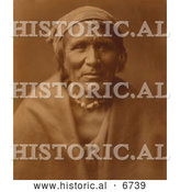 Historical Photo of Mohave Native American Indian - Sepia by Al