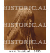 December 16th, 2013: Historical Photo of Native American Indian Mosa 1903 - Sepia by Al