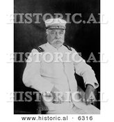 Historical Photo of Navy Admiral: George Dewey - Black and White Version by Al