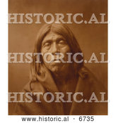 December 16th, 2013: Historical Photo of Quniaika, a Mohave Native American Indian 1903 - Sepia by Al