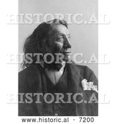 December 13th, 2013: Historical Photo of Red Cloud, Sioux Indian 1891 - Black and White by Al
