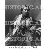 December 13th, 2013: Historical Photo of Sioux Indian Woman, Susan Frost 1899 - Black and White by Al