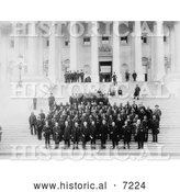 December 13th, 2013: Historical Photo of Sioux U.S. Commissioners and Delegations 1888 - Black and White by Al