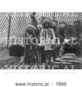 Historical Photo of Sons of Yakima Chief 1910 - Black and White by Al