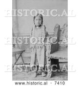 Historical Photo of Standing Holy 1885 - Black and White by Al
