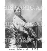 December 13th, 2013: Historical Photo of Sun Flower, a Sioux Indian Woman 1899 - Black and White by Al