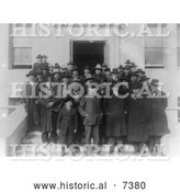 December 13th, 2013: Historical Photo of the Osage Council - Black and White by Al