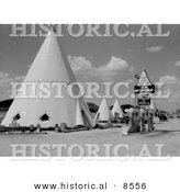 Historical Photo of Tipi Hotels 1940 by Al