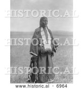 December 13th, 2013: Historical Photo of Two Charger Woman, Brule American Indian 1907 - Black and White by Al