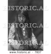 Historical Photo of Yakima Boy 1910 - Black and White by Al