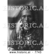 Historical Photo of Yakima Man 1910 - Black and White by Al