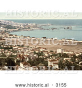 Historical Photochrom of Algiers, Algeria As Seen from Mustapha by Al