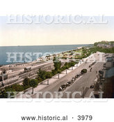 Historical Photochrom of the Esplanade and Waterfront of Ryde Isle of Wight England UK by Al