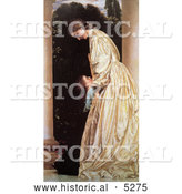Historical Painting of Sisters Hugging by Frederic Lord Leighton by Al
