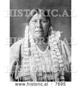 Historical Photo of Arikara Native American Woman 1908 - Black and White by Al