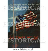 Historical Photo of Remember December 7th! - Vintage Military War Poster 1942 by Al